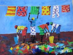 Aswani - Washing Day In Tanzania