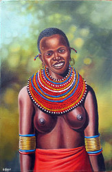 Mugwe - Beautiful Maasai Woman