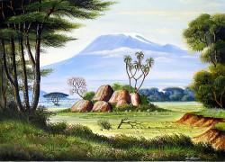 Mugwe---Mount-Kilimanjaro-from-Amboseli