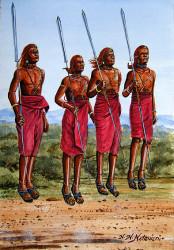 Ndeveni - Maasai Morans Dancing