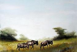 Njeru - Wildebeest on the Move