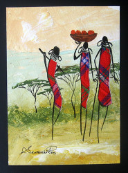 Shiundu - Maasai Ladies Head Home