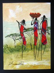 Shiundu - Maasai Ladies Head Home