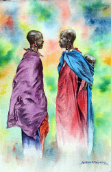 Thiongo---Maasai-with-Baby