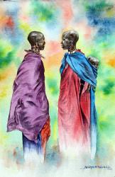Thiongo---Maasai-with-Baby