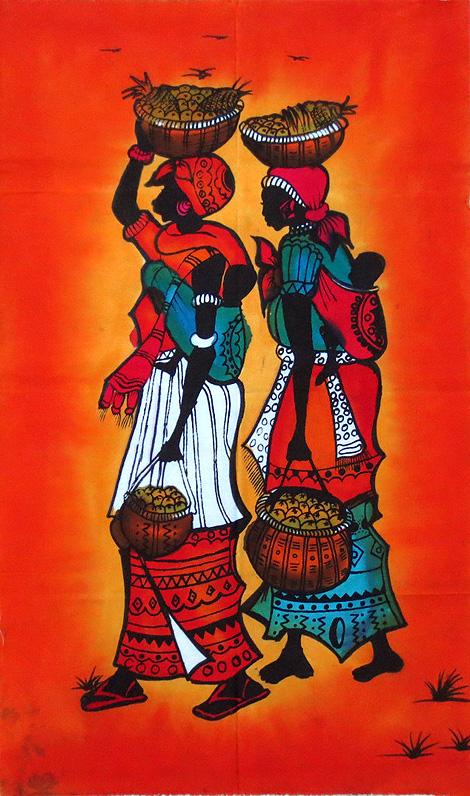 African Batiks Inside African Art