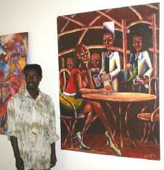 kamuyu and painting