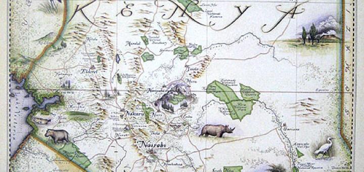 Blue Rhino Near Me >> Blue Rhino Maps Inside African Art