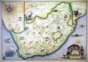 Blue Rhino Map - South Africa