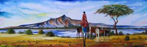 Malak - Herding Near Lake Naivasha