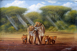 Mugwe - Lion Family Fun