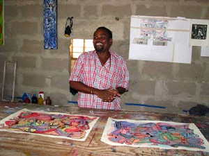 henrick-lilanga-in-his-studio