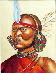 Aila - Brave Maasai Moran