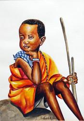 Aila - Young Maasai Herdsman