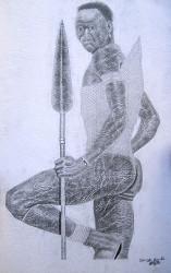 Obanda - Maasai Warrior