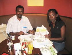 Thiongo and Liz