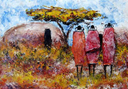 Ogambi - Three Maasai Women
